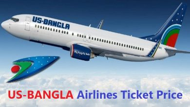 us-bangla airlines ticket price